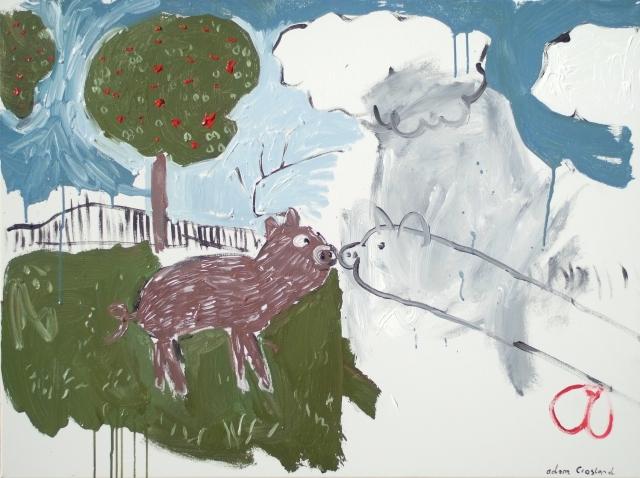 Farmyard Dreams - Acrylic on canvas - 2015