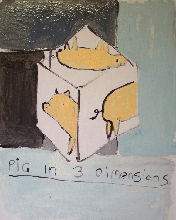 pig in 3 dimensions