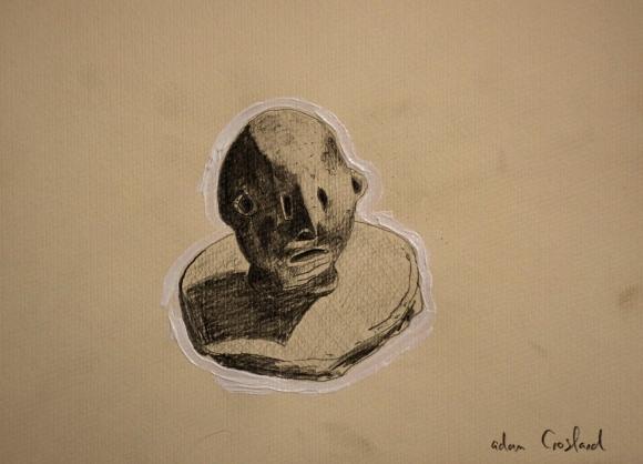 man-drawing